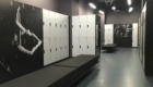 Fitness Gym Cabinets With Graphics