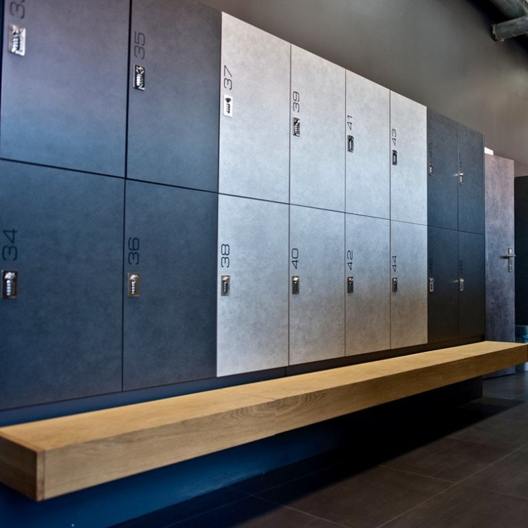 Gym Lockers With Bench Design Changing Room Premium Sport Atepaa