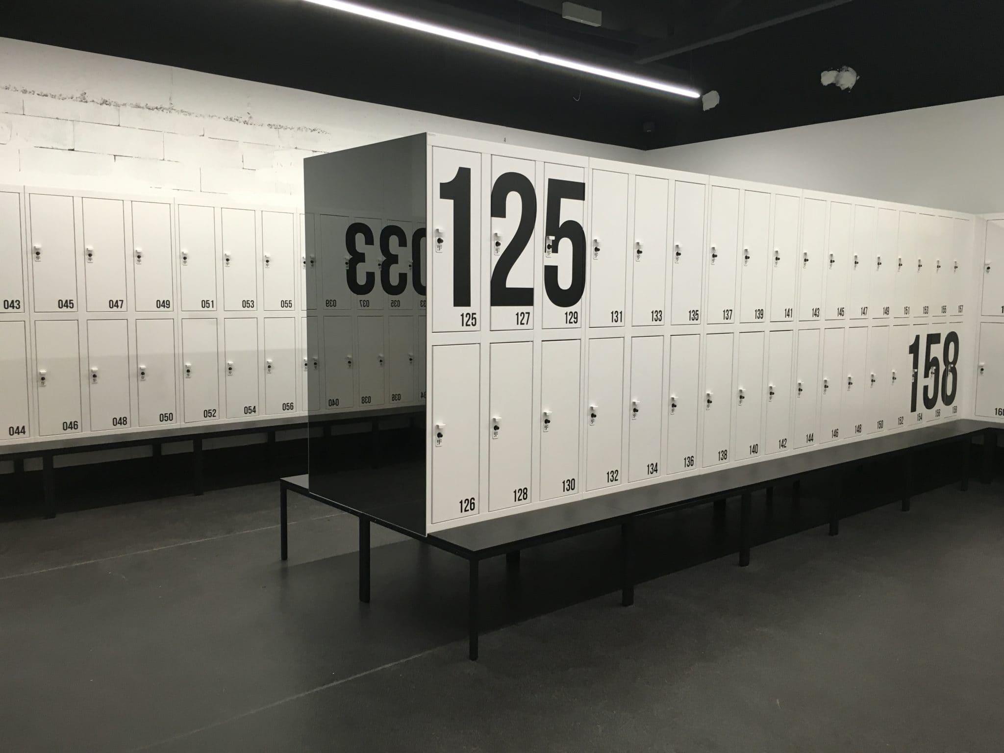 Gym lockers office lockers employee lockers office for Designer lockers