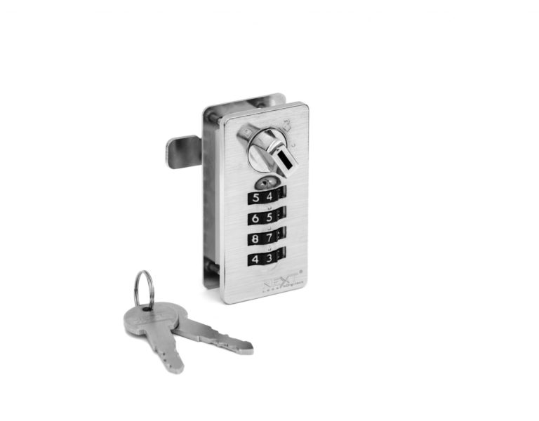 Mechanical digit code lock