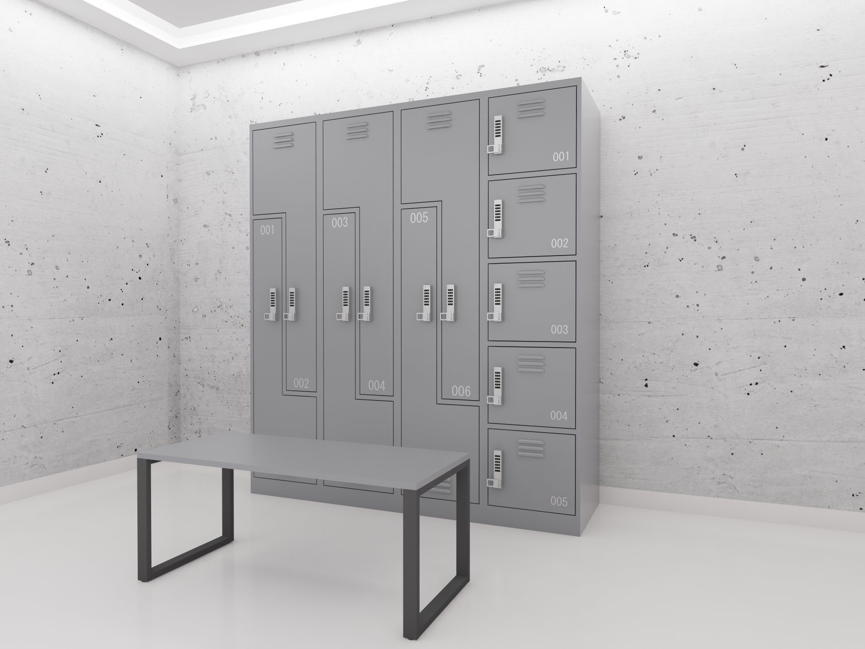 i bench room accessories lockers products store equipment locker benches pedestal po for packaging g