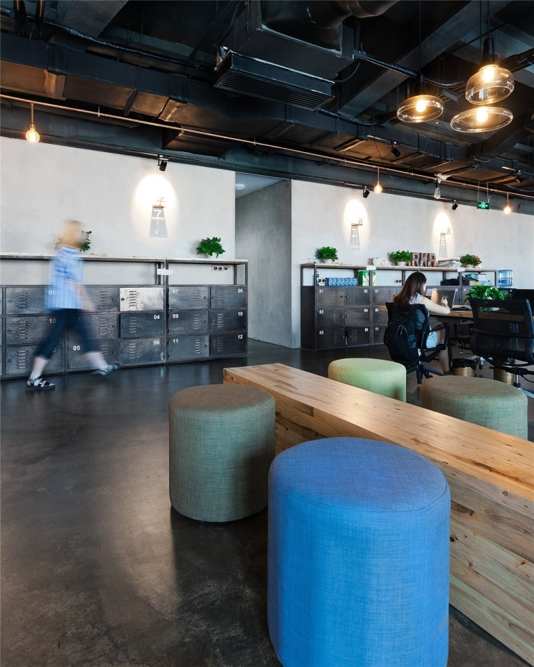 Industrial Office Furniture And Lockers Industrial Office Design Adorable Industrial Office Design