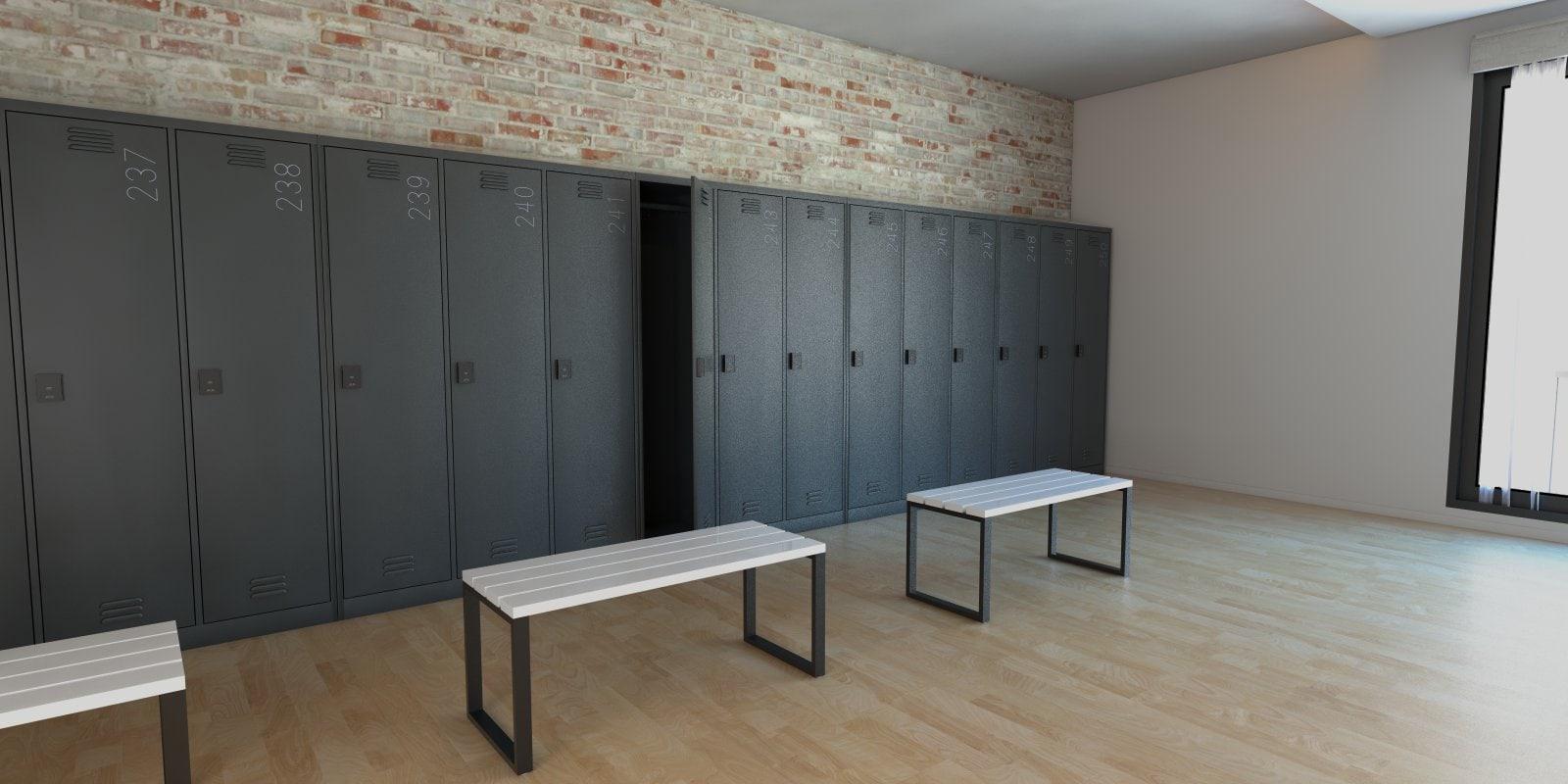 Lockers for employees, metal staff lockers, lockers for personal ...