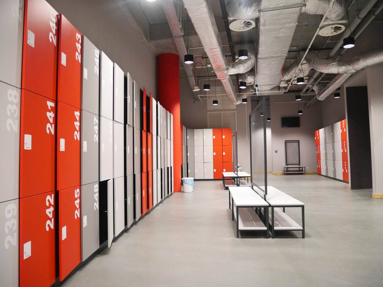 Gym and fitness lockers for changing room personal