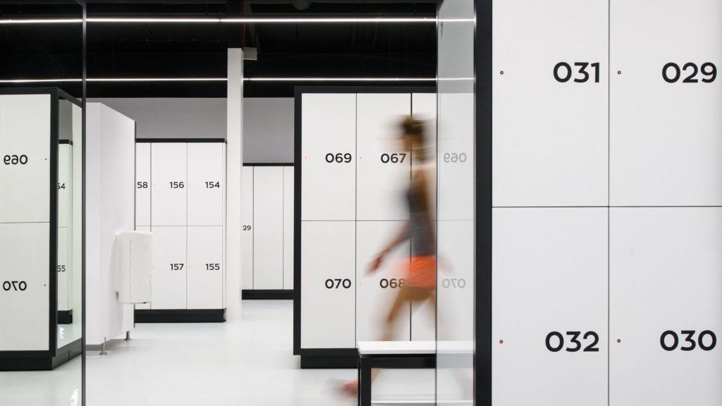 Locker rooms for Fitness Atepaa®