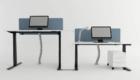 Adjustable office desks
