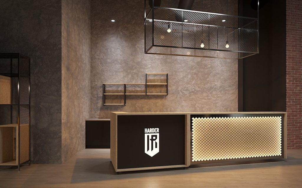 Harder Furniture for the Fitness Club 5